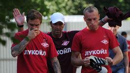 Андрей Ещенко, Массимо Каррера и Денис Глушаков.