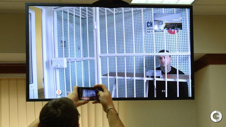 19 октября. Москва. Мосгорсуд. Рассмотрение апелляции на заключение под стражу Павла Мамаева.