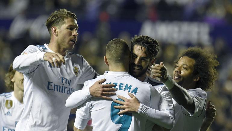 """Футболисты """"Реала"""". Фото AFP"""