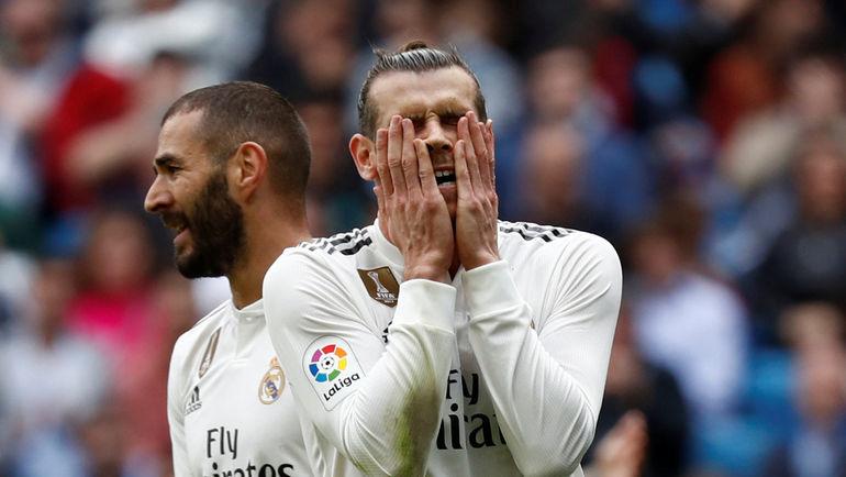 """20 откбря. Мадрид. """"Реал"""" - """"Леванте"""" - 1:2. Гарет Бэйл разочарован - очередное поражение его команды. Фото AFP"""