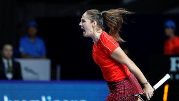 Теннис, Кубок Кремля-2018, финал, Дарья Касаткина победила Онс Жабер, 20 октября 2018, обзор матча