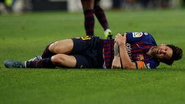 """20 октября. Барселона. """"Барселона"""" - """"Севилья"""" - 4:2. Травма Лионеля Месси."""