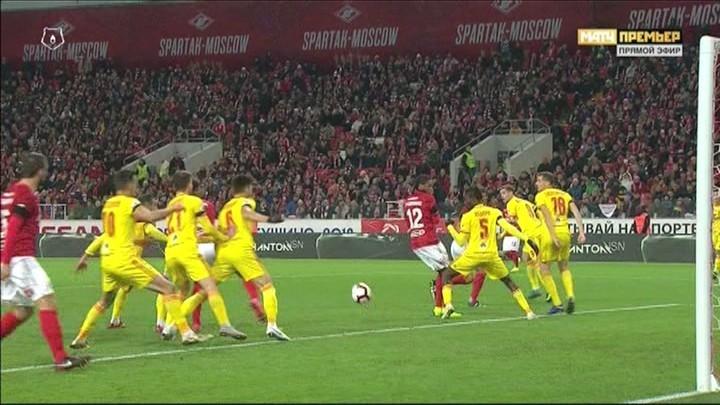 Максим Беляев не играл рукой.
