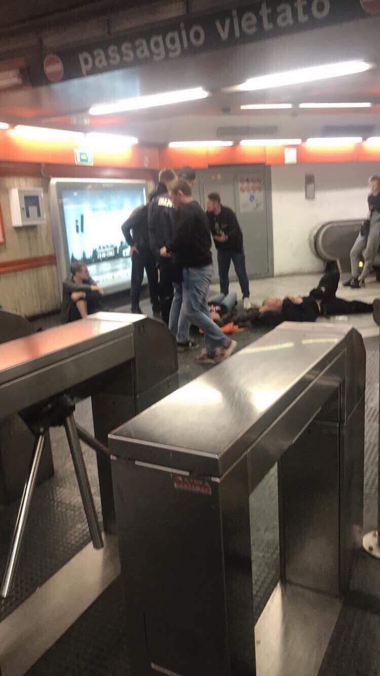 """Инцидент в метро. Фото """"СЭ"""""""