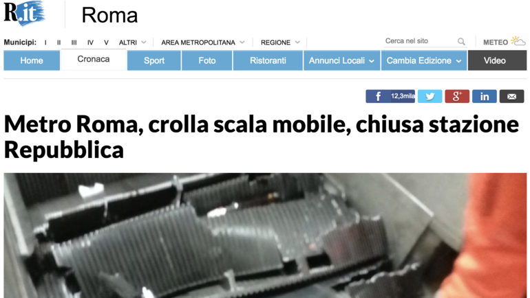 """""""Стал свидетелем Апокалипсиса"""". Итальянские СМИ – о трагедии в римском метро"""