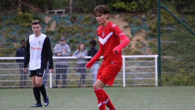 """Максим Самойлов в """"Валансьене"""". Фото Valenciennes FC"""