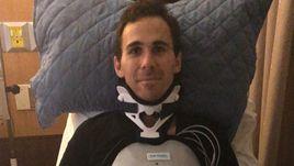 Пилот шокировал своим состоянием после аварии. Он парализован уже два месяца