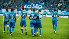 """25 октября. Санкт-Петербург. """"Зенит"""" – """"Бордо"""" – 2:1. Сине-бело-голубые возглавляют свою группу."""