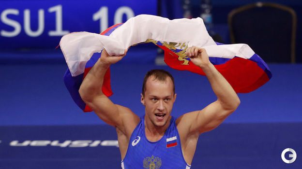 Сергей Емелин - греко-римская борьба, до 60 кг. Фото Reuters