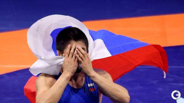 Магомедрасул Газимагомедов - вольная борьба, до 70 кг. Фото AFP