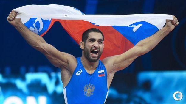 Степан Маранян - греко-римская борьба, до 63 кг. Фото AFP