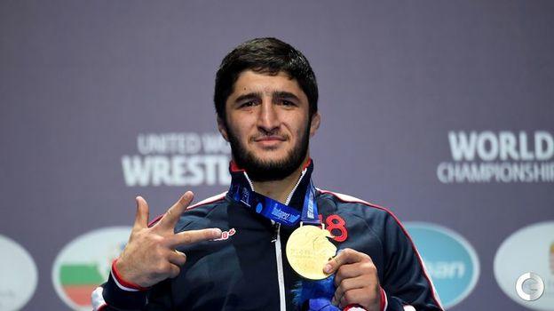 Абдулрашид Садулаев - вольная борьба, до 97 кг. Фото AFP