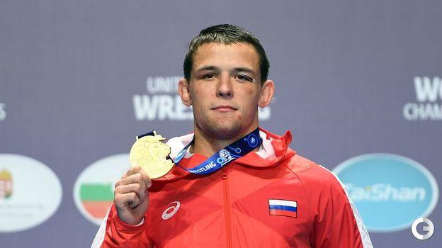 Артем Сурков - греко-римская борьба, до 67 кг. Фото AFP