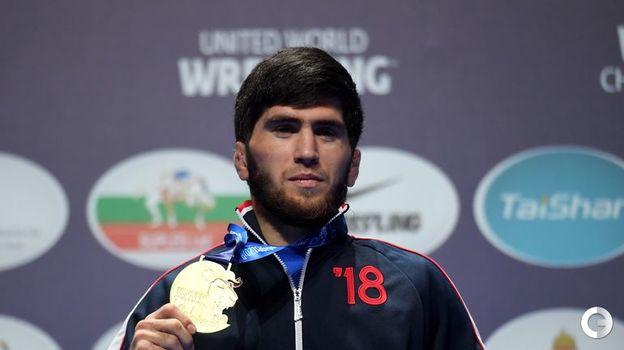 Заур Угуев - вольная борьба, до 57 кг. Фото AFP