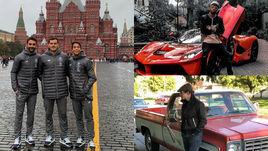 Касильяс на Красной площади, Обамеянг с суперкаром, Панарин и пикап