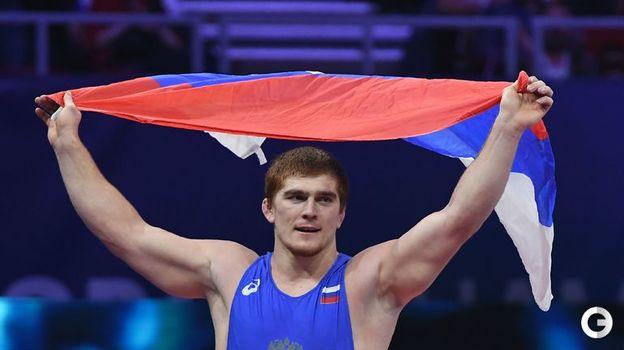 Муса Евлоев - греко-римская борьба, до 97 кг. Фото AFP