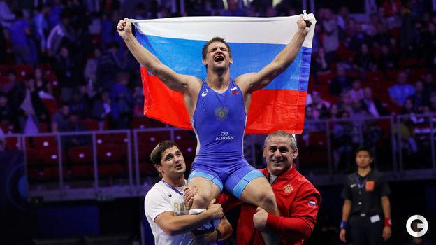 Александр Чехиркин - греко-римская борьба, до 77 кг. Фото Reuters