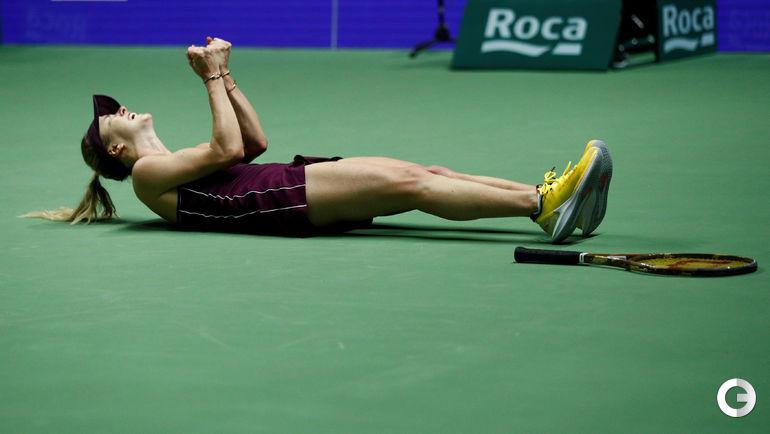 28 октября. Сингапур. Итоговый турнир WTA. Финал. Элина Свитолина.