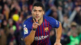 "28 октября. Барселона. ""Барселона"" - ""Реал"" - 5:1. Луис Суарес - автор хет-трика в класико."