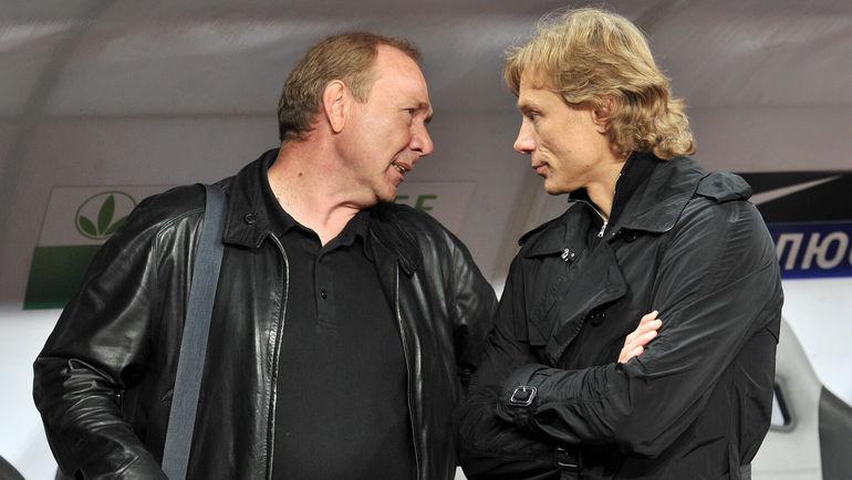 2011 год. Олег Романцев и Валерий Карпин. Фото Алексей Иванов