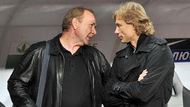 2011 год. Олег Романцев и Валерий Карпин.
