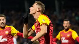 "27 октября. Тула. ""Арсенал"" – ""Оренбург"" – 2:2. Лука Джорджевич празднует гол."