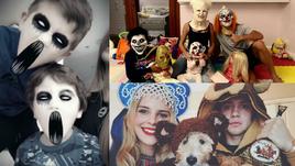 Зомби, страшные клоуны, медведи и кокошники. Роналду, Месси и русские звезды НХЛ празднуют Хэллоуин