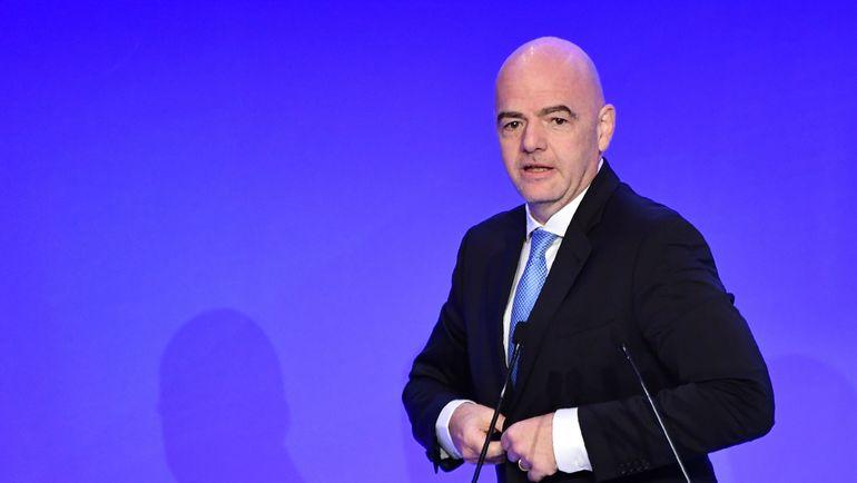 Президент ФИФА Джанни Инфантино. Фото AFP