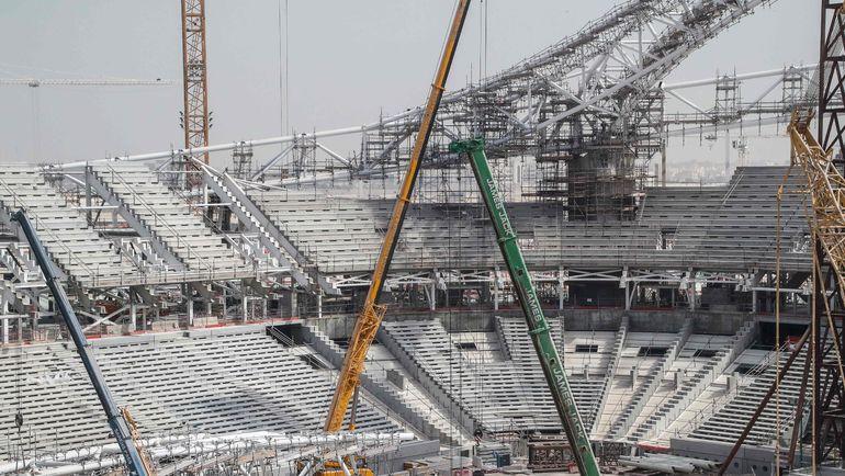 6 февраля. Стройка стадиона в Дохе. Фото AFP