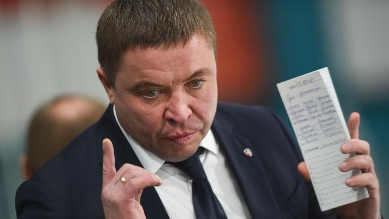 """Александр Гулявцев. Фото ХК """"Северсталь"""""""