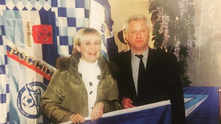 Наталья Долгополова и Владимир Долгополов. Фото Из личного архива Дарьи Долгополовой