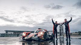 Европейский хет-трик G-Drive Racing
