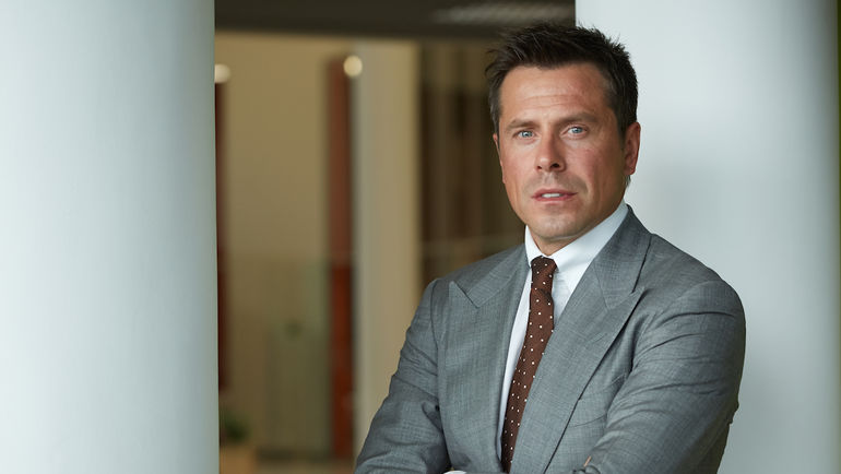 """Александр Крылов, директор по региональным продажам """"Газпром нефти"""", руководитель проекта G-Drive Racing."""