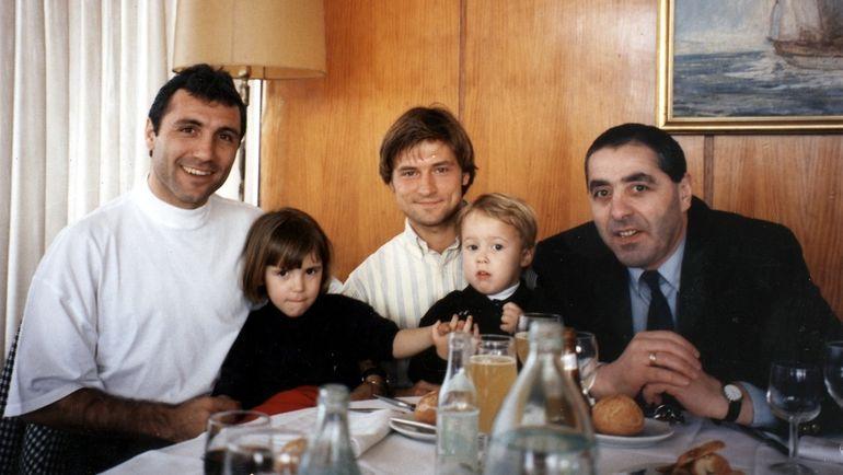 1994 год. Христо Стоичков, Игорь Корнеев и Александр Львов.