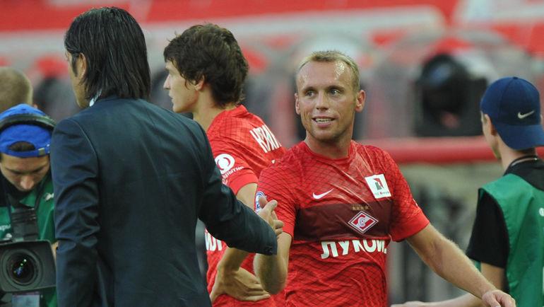 Денис Глушаков (справа) и Мурат Якин. Фото Александр Федоров, «СЭ»
