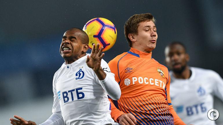"""3 ноября. Химки. """"Динамо"""" – ЦСКА – 0:0."""