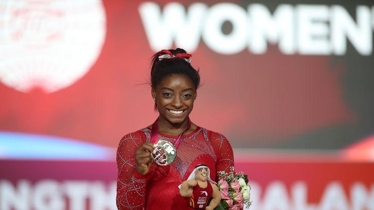 Симона Байлз. Фото AFP