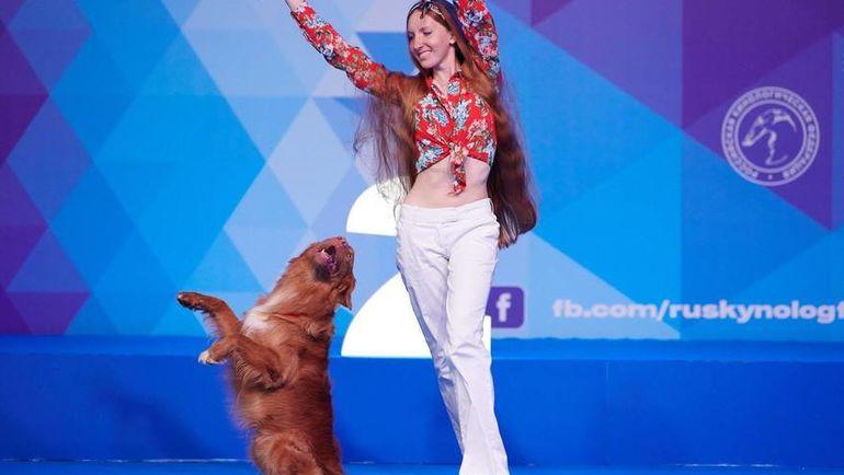 Танцы с собаками делятся на две дисциплины. Фото Павел Разов