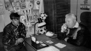 1992 год. Сергей Семак (слева) и Алексей Цыганюк.