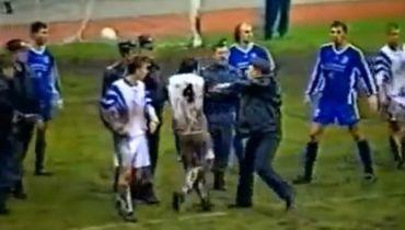 20 лет назад подрались футболисты