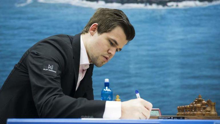 Магнус Карлсен. Фото AFP