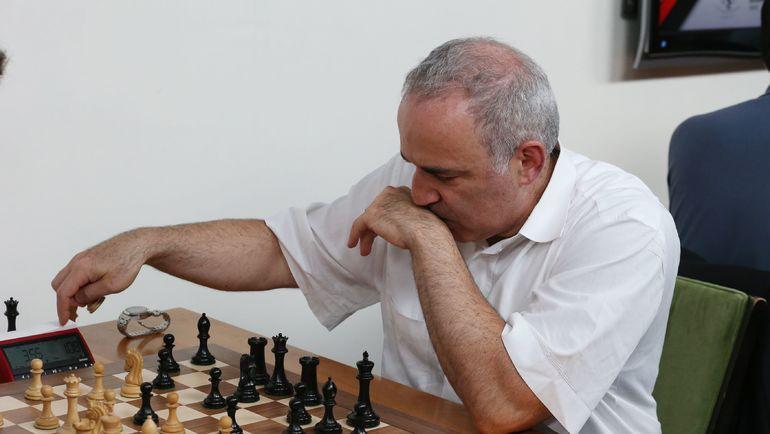 Гарри Каспаров. Фото AFP