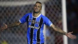 "Нападающий бразильского ""Гремио"" Луан."