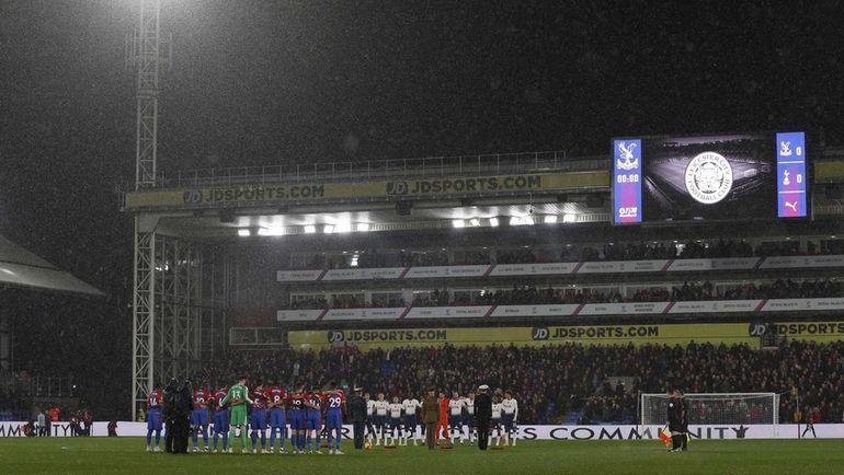Лестер: первый домашний матч после гибели владельца клуба. Фото AFP
