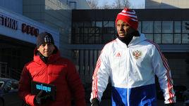Тренировка сборной: мороз и солнце в день рождения Лунева