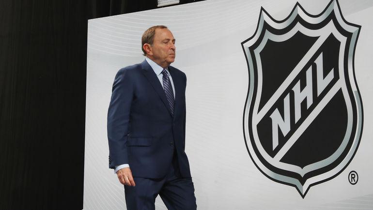 Комиссионер НХЛ Гэри Бэттмен. Фото AFP