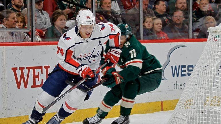 """14 ноября. Сент-Пол. """"Миннесота"""" - """"Вашингтон"""" - 2:5. Фото NHL.com"""