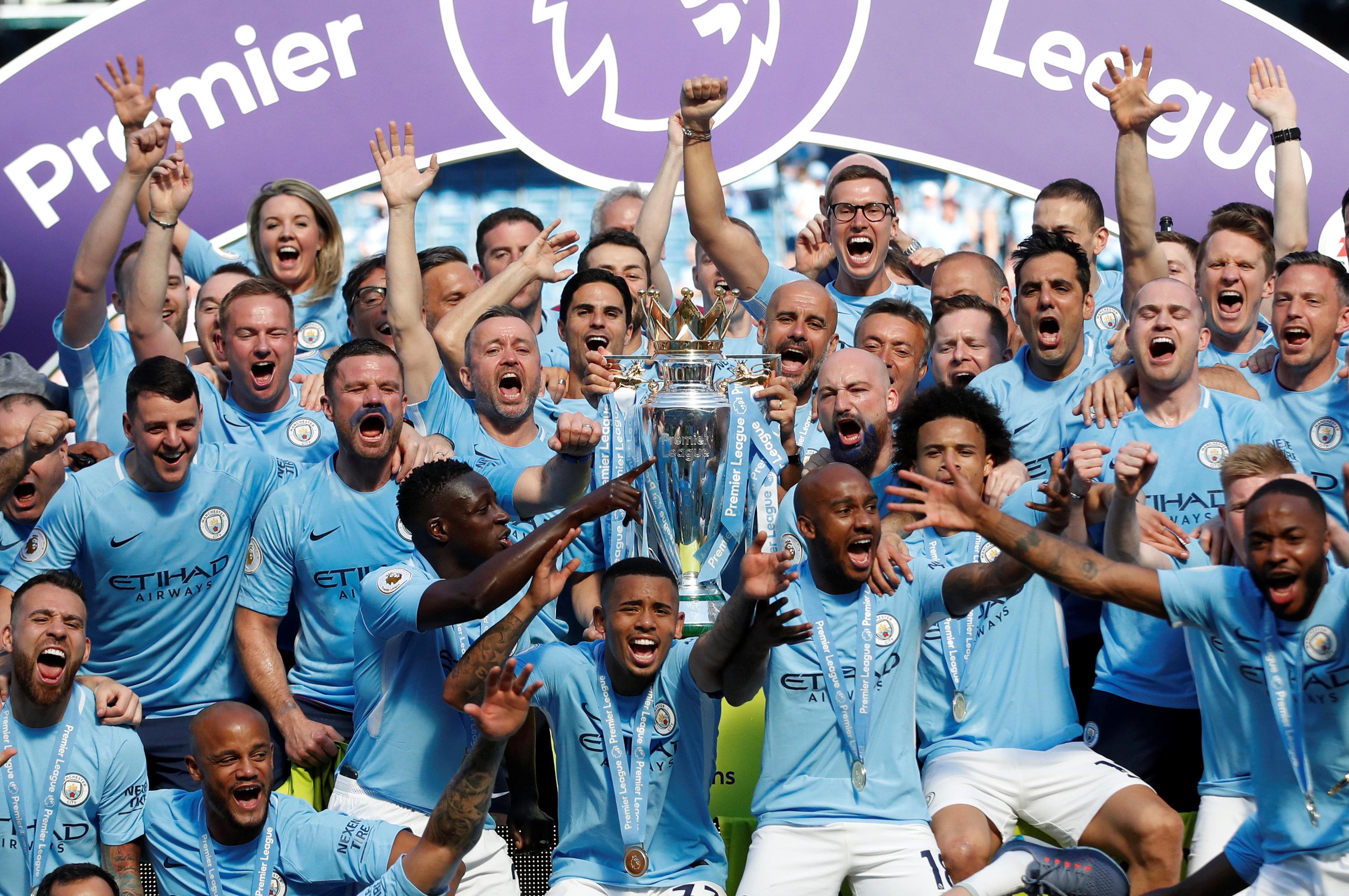 Манчестер сити английская премьер лига