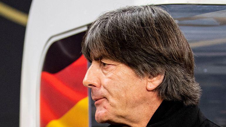 15 ноября. Лейпциг. Германия – Россия – 3:0. Йоахим Лев. Фото AFP