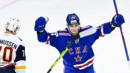 """18 ноября. Санкт-Петербург. СКА - """"Металлург"""" Мг - 2:1. Питерская команда забросила обе шайбы в большинстве."""